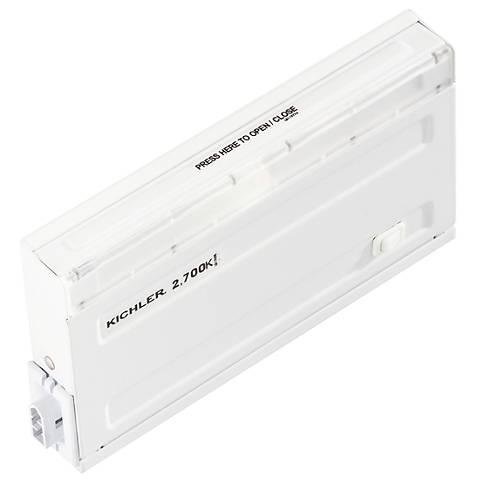 "Design Pro White 7"" LED Direct Wire Under Cabinet Light"