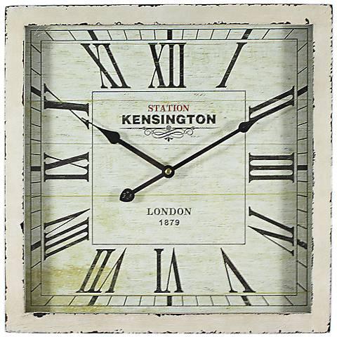 """Wilton 15 3/4"""" Square Wall Clock"""
