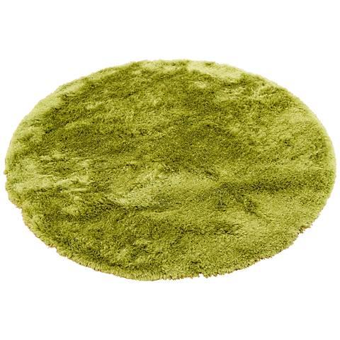 Chandra Naya NAY18800 Green Shag Area Rug