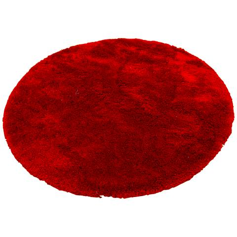 Chandra Naya NAY18802 Red Shag Area Rug
