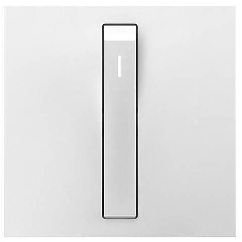 adorne® White 15A Whisper Switch with Status Light