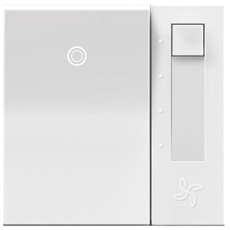 adorne® White Fan Control Switch with Status Light