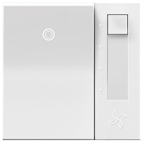 adorne® White Paddle Switch Fan Speed Control
