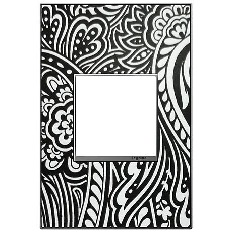 adorne® 1-Gang Magnesium Trim Customizable Wall Plate