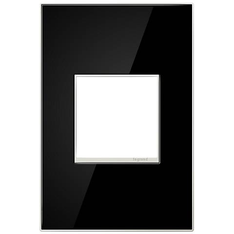 adorne® 1-Gang Black Mirror Wall Plate