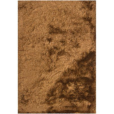 Chandra Naya NAY18803 Brown Shag Area Rug