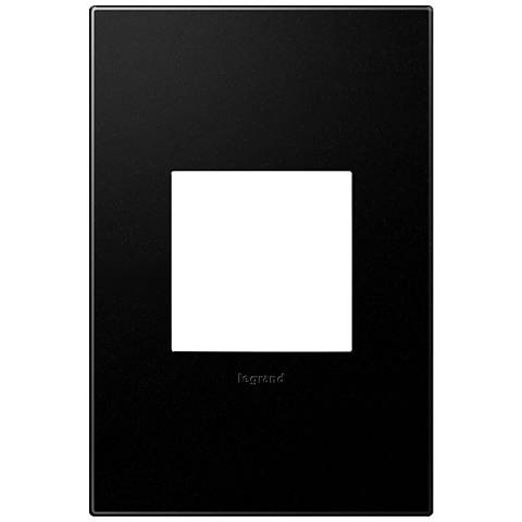 adorne® Graphite 1-Gang Snap-On Wall Plate