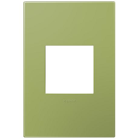 adorne® Lichen Green 1-Gang Snap-On Wall Plate