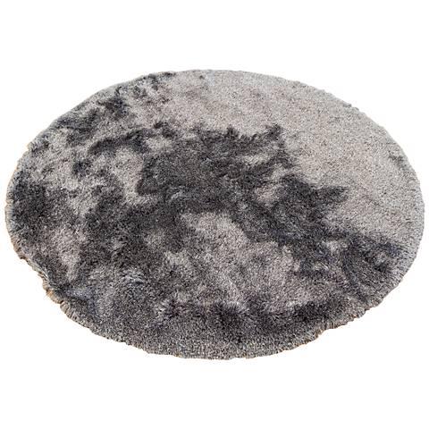 Chandra Naya NAY18807 Charcoal Shag Area Rug