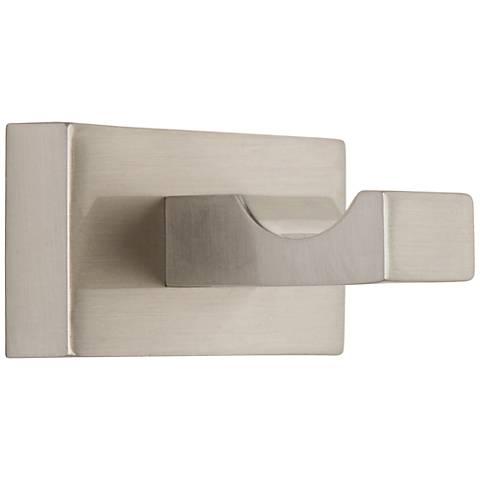 Axel Brushed Nickel Single Bathroom Hook