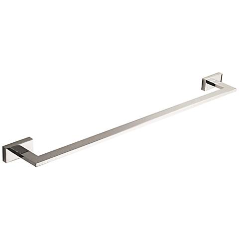 "Axel Polished Chrome 17 1/2"" Bathroom Towel Bar"