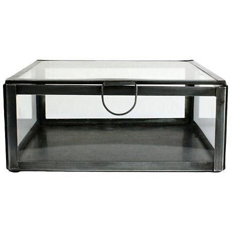 Pierre Small Square Clear Glass Case