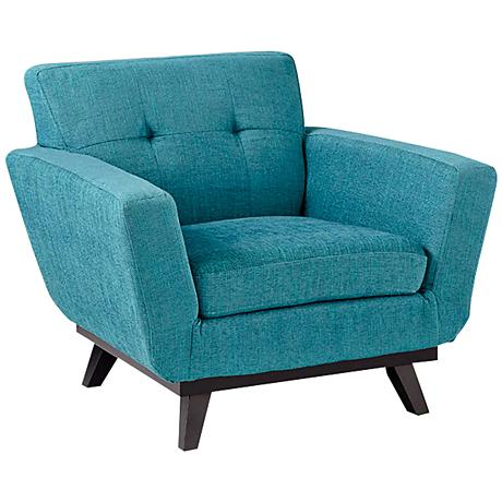 Chairman of the Blues Blue Contemporary Armchair
