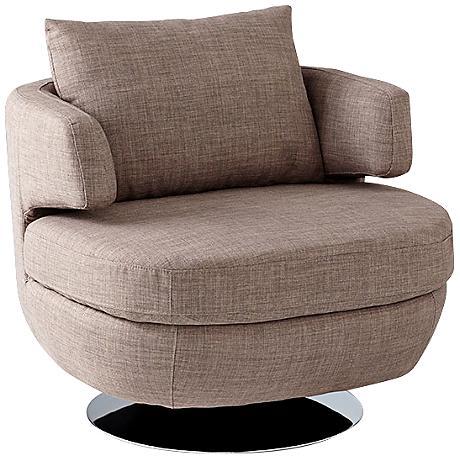 Suitor Gray Contemporary Armchair