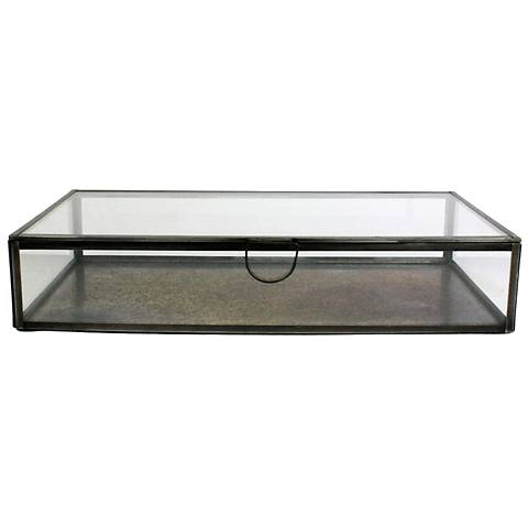 Pierre Rectangle Clear Glass Case