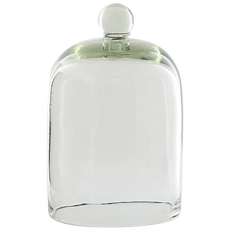 """Belton Small 8 1/2"""" Wide Recycled Glass Dome"""