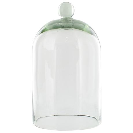 "Belton Large 14"" Wide Recycled Glass Dome"
