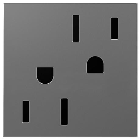 adorne® Magnesium 15A Tamper-Resistant Wall Outlet