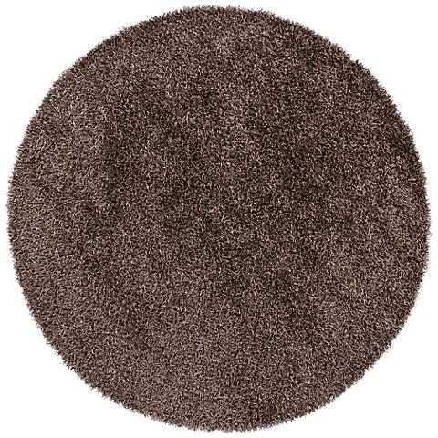 Chandra Zara ZAR14506 Gray Shag Area Rug