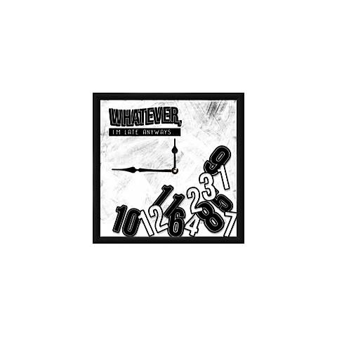 """Whatever 12"""" Square Wall Clock"""