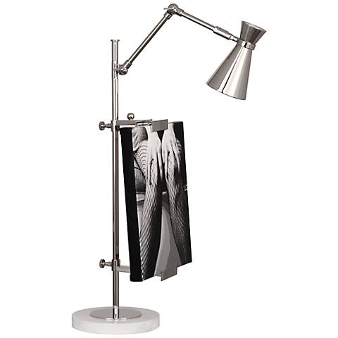 Jonathan Adler Bristol Polished Nickel Table Lamp