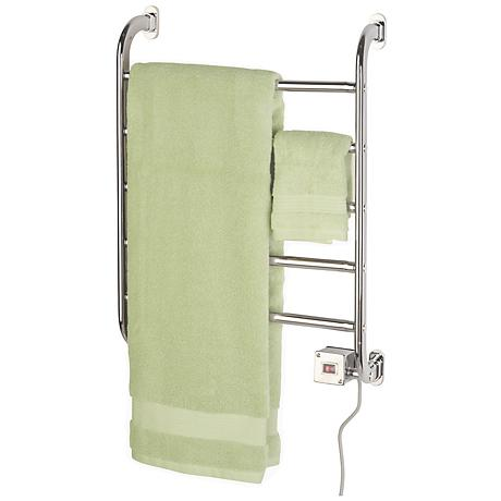 """Regent 22 1/4"""" High Wall Mounted Towel Warmer in Chrome"""