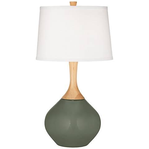 Deep Lichen Green Wexler Table Lamp