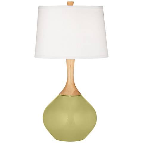 Linden Green Wexler Table Lamp