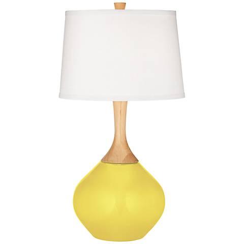 Lemon Twist Wexler Table Lamp