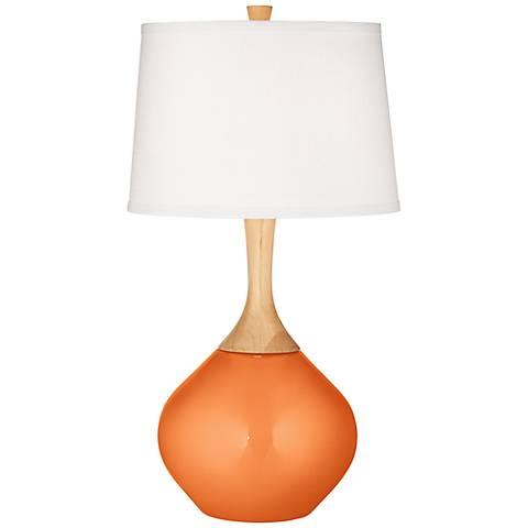 Burnt Orange Metallic Wexler Table Lamp