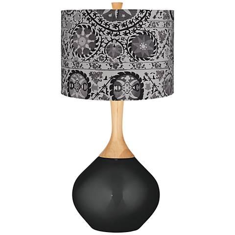 Gray Suzani Gray Suzani Wexler Table Lamp
