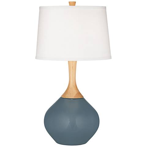 Smoky Blue Wexler Table Lamp