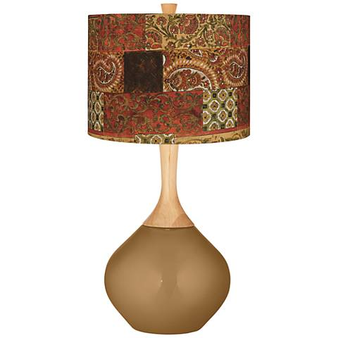 Paisley Patchwork Paisley Patchwork Wexler Table Lamp