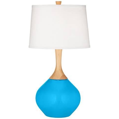 Sky Blue Wexler Table Lamp