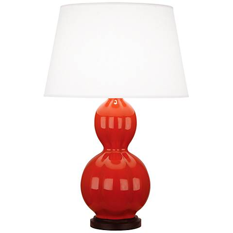 Randolph Dragon's Blood Red Table Lamp