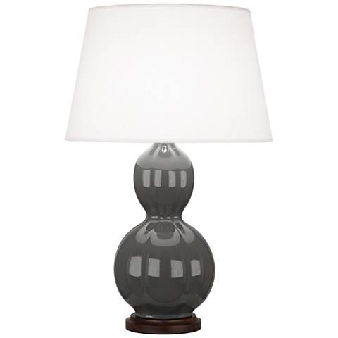 Randolph Black Ceramic Table Lamp