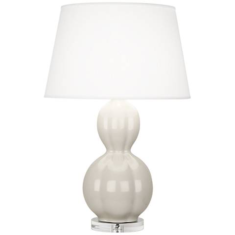 Randolph Bruton White Table Lamp