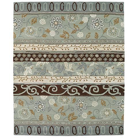 Kaleen Taj TAJ01-88 Mint Wool Area Rug