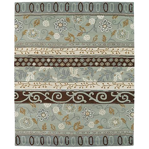 Kaleen Taj TAJ01-88 Mint Wool Area Rug