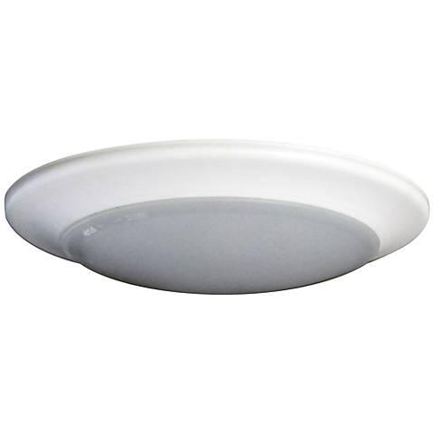 "9"" Disk 30 Watt Surface Mount LED Retrofit Trim in White"