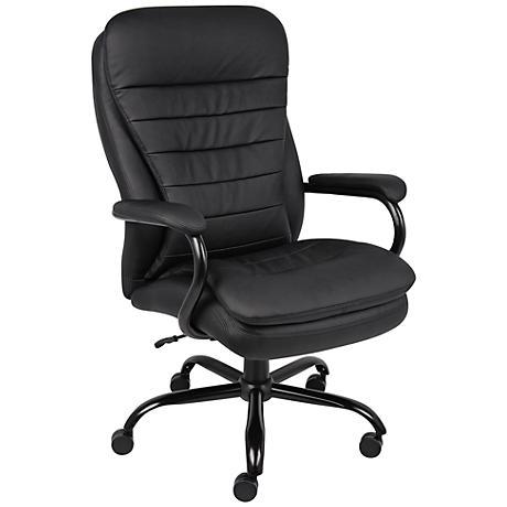 Boss Heavy Duty Black Adjustable Office Chair