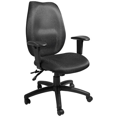 Boss Black High Back Adjustable Task Chair