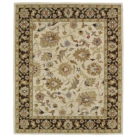 Kaleen Taj TAJ06-03 Beige Wool Area Rug