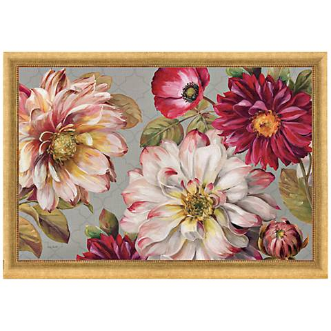 "Classically Beautiful I 36"" Wide Framed Canvas Wall Art"