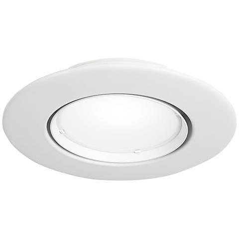 """5"""" or 6"""" Gimbal-Pivot 10 Watt LED Retrofit Trim White"""