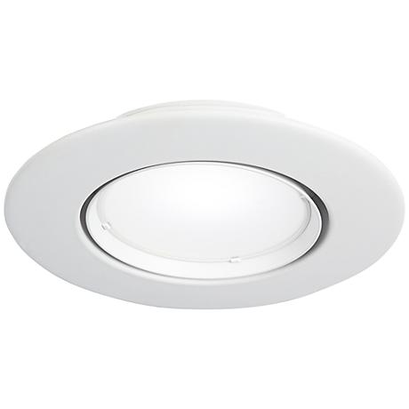 "5"" or 6"" Gimbal-Pivot 10 Watt LED Retrofit Trim in White"