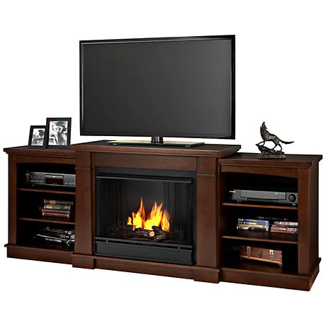 Real Flame Hawthorne Espresso Entertainment Gel Fireplace