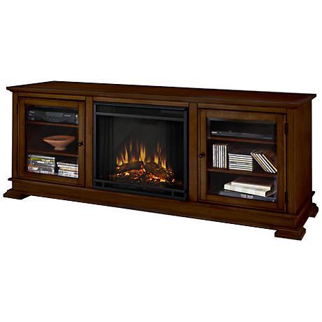 Real Flame Hudson Dark Espresso Mantel Electric Fireplace