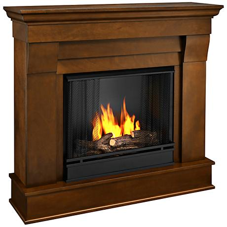 Real Flame Chateau Espresso Mantel Gel Fireplace