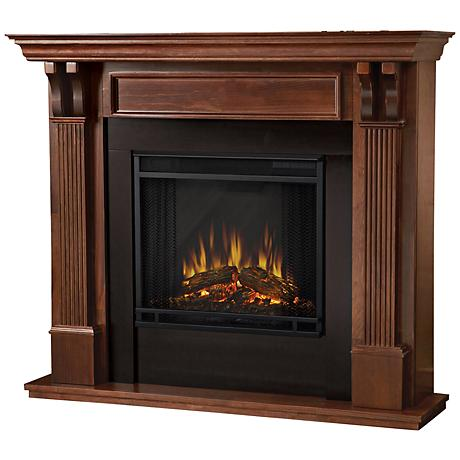 Real Flame Ashley Mahogany Mantel Electric Fireplace